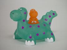 bathtime dinosaur