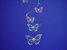 Crystalites Mobile Butterfly