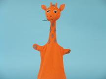 Giraffe Cone Puppet