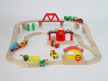 Main Street Play Set and Trains