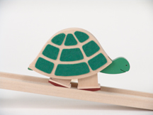 Petra Wooden Turtle Walker
