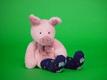 Pinky in Socks