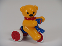 Push and Go Teddy