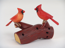 Song Birds of Nature Northern Cardinal Red