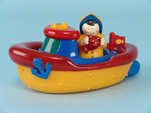 Bathtime Fishing Boat
