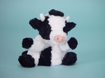 Black and White Cow Puppet