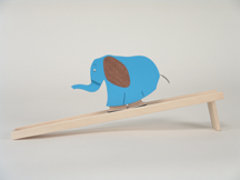 Blue Elephant Walker