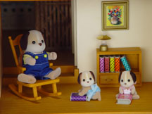 Calico Critter Dollhouse and Furniture