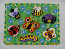 Chunky Insects 7 Pc Puzzle