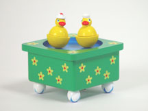 Dizzy Ducks Musical Box