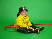 Little Firefighter Costume
