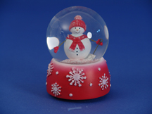 Perfectly Plaid Snowglobe
