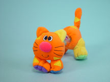Rainstick Buddies Rattle cat