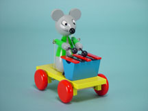 Xylophone Playing Mouse
